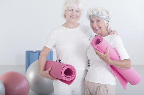 Fitness After 50 for Women Exercise helps you to feel better and reduce your aches and pains.